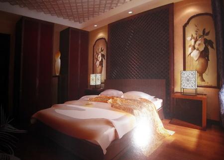 vintage chinois en bois chambre coucher y compris le mat riel 3d model download free 3d. Black Bedroom Furniture Sets. Home Design Ideas