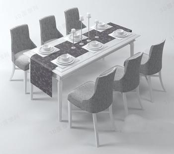 Tables 3d T 168 166 L 168 166 Chargement Gratuit 3d Model Download Free
